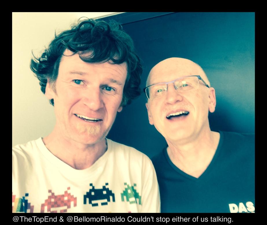 Jellybean 76 with Prof RinaldoBellomo